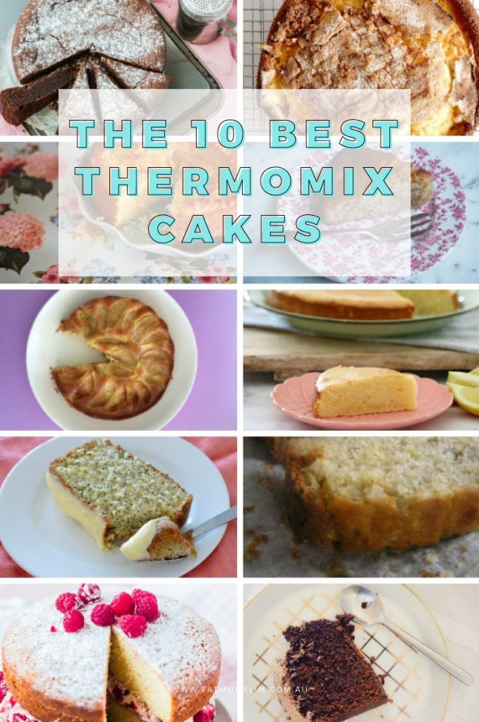 Oh yum! Got your Thermomix and ready to get baking? Here's the best 10 Thermomix cake recipes for you to try. Which do you like best?