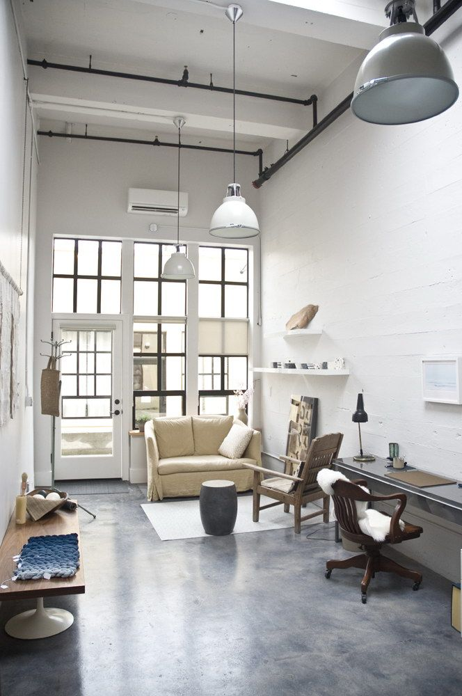 Atelier | Offices + Creative Spaces | Pinterest | Industrial
