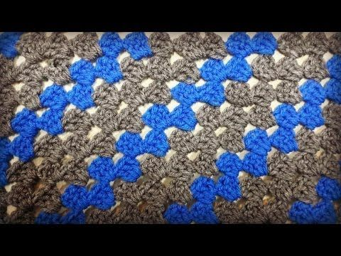 ▷ Rectangle Corner to Corner Granny Crochet Tutorial - YouTube www ...