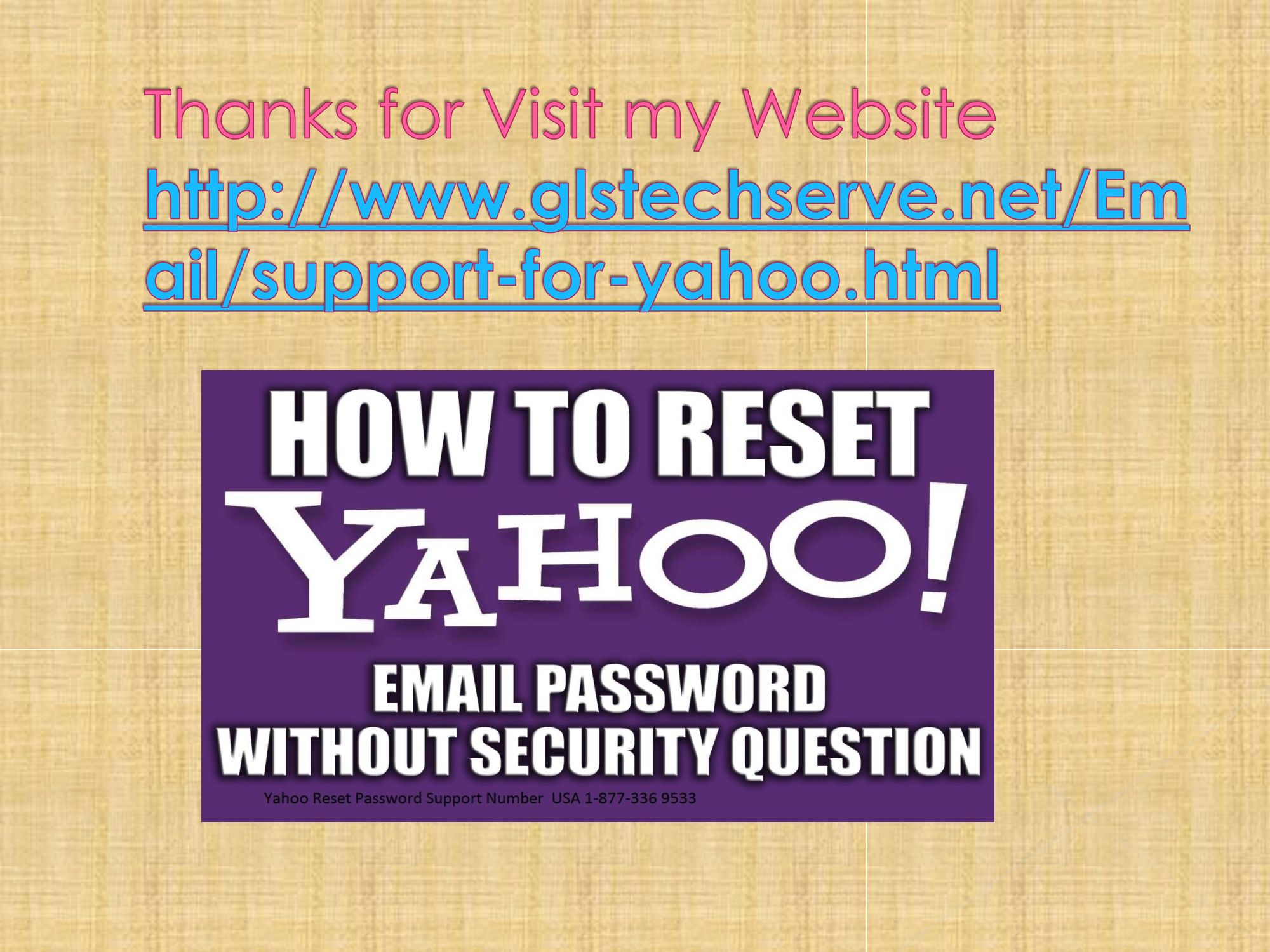 how to reset your yahoo password without security questions