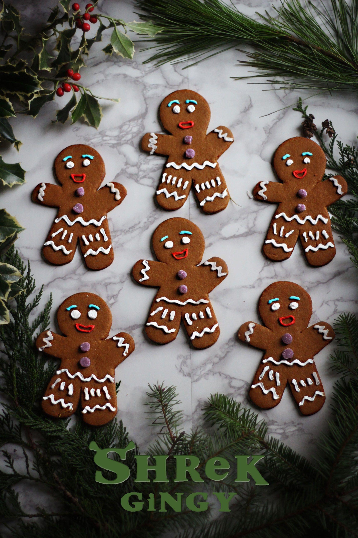 Shrek Gingy The Gingerbread Man Recipe Gingerbread