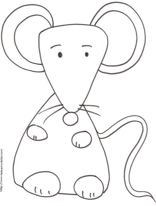R sultat de recherche d 39 images pour coloriage la petite souris une souris verte pinterest - Dessin petite souris ...