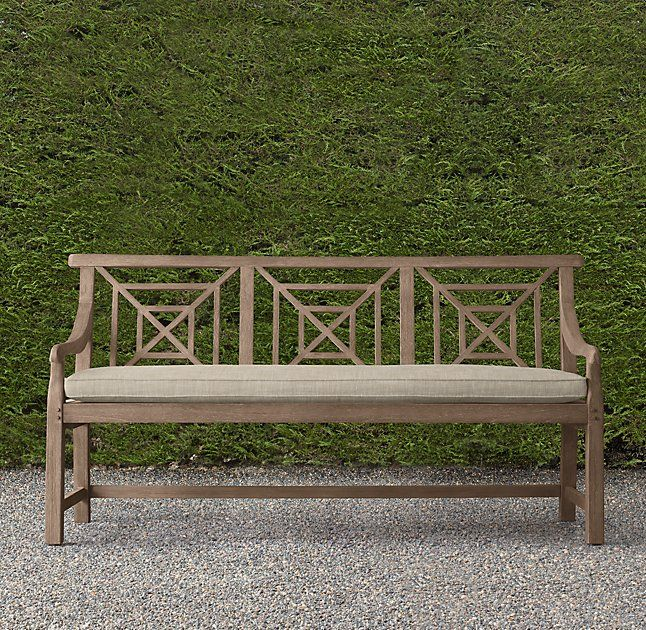 Saltram Bench Cushions In 2020 Teak Garden Bench Scandinavian Dining Chairs Outdoor Garden Bench