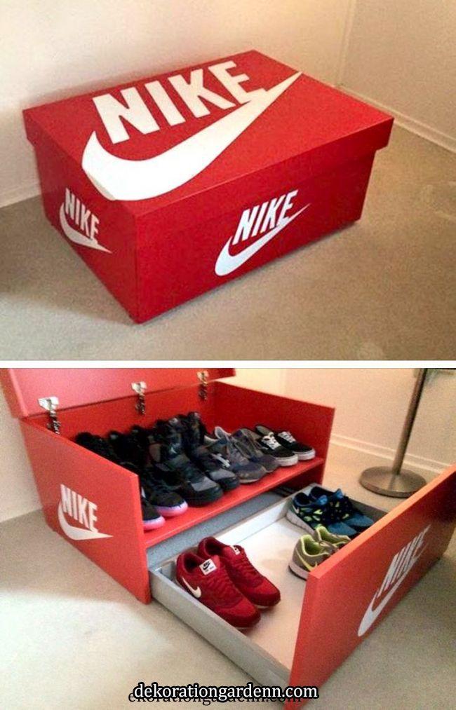 22 Super Fun Craft Box Ideas To Do With Your Kids Coffre Rangement Chaussure Diy Rangement Idees De Meubles