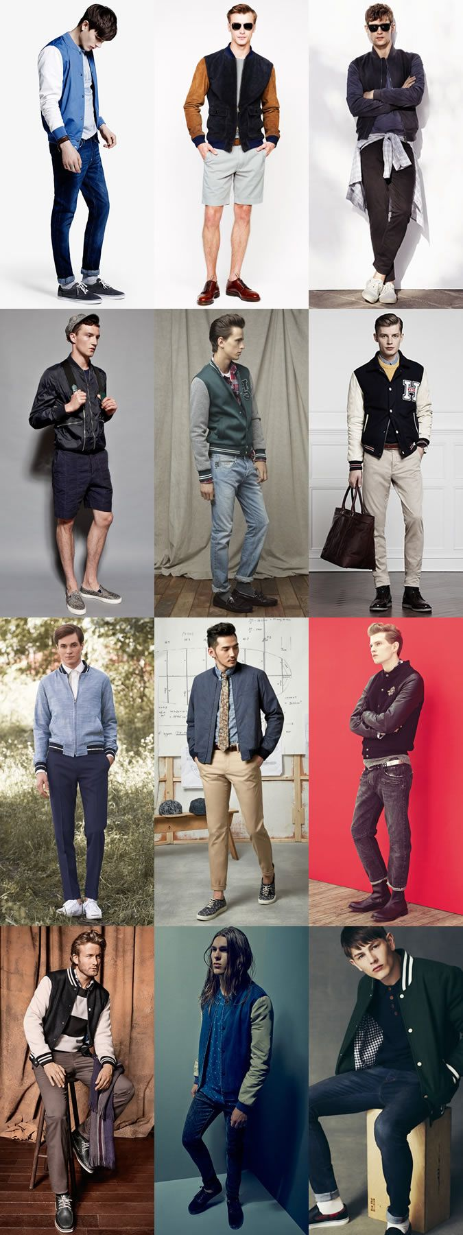 9ee9875cd5d5 Men s Varsity Baseball Jacket Outfit Inspiration - Americana-Inspired  Lookbook  mens  fashion