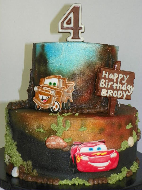 Cars Birthday Cake Ideas Plumeria Cake Studio Pixar Cars - Birthday cake cars 2