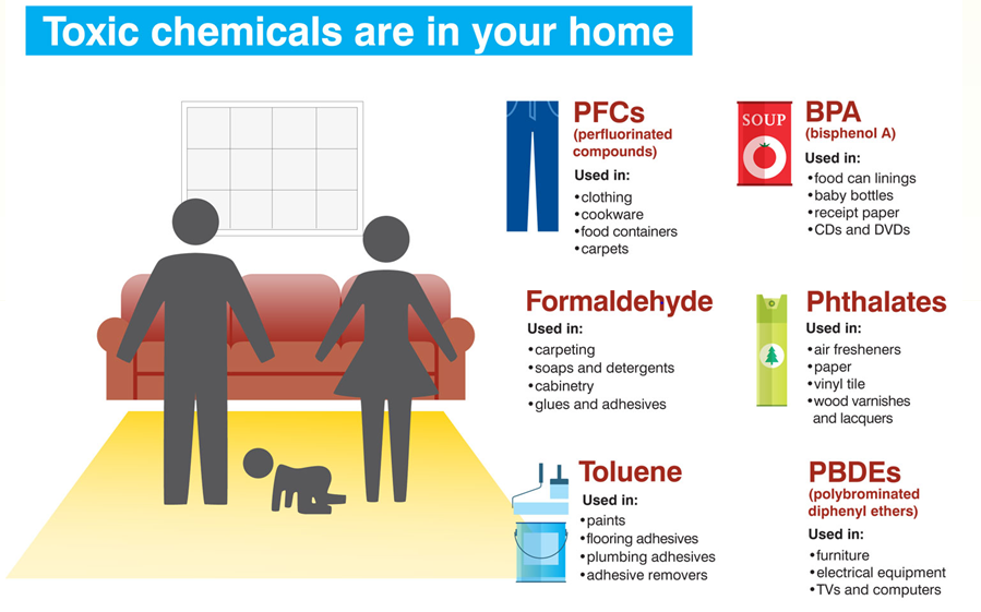 Toxins All Around Us Indoor Air Is More Toxic Than Outdoor Take One Step At A Time And Rid Your Life Of Chemicals Toxic Chemicals Toxic Chemicals