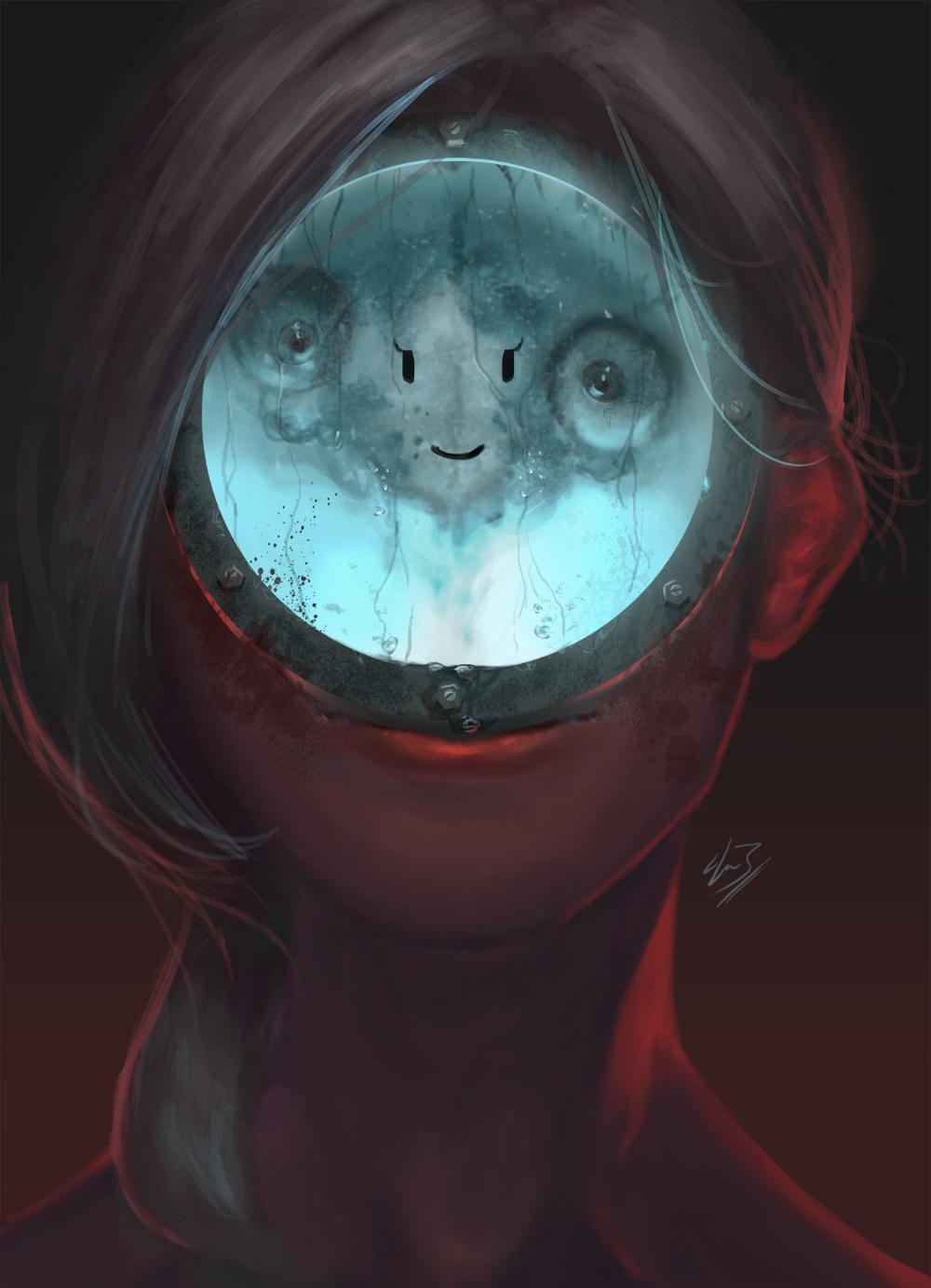 Assimilation Gif By Amanda Jaws Imaginaryhorrors Image Painting Horror Artist Websites