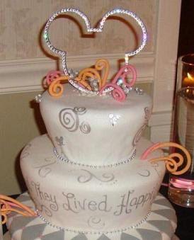 Swarovski Mouse Cake Topper Wedding Birthday Bling. $50.00, via Etsy. @Leslie Lippi Riemen Everett