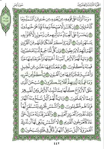 Surah Yaseen Blessings and Surah Yasin (Arabic English