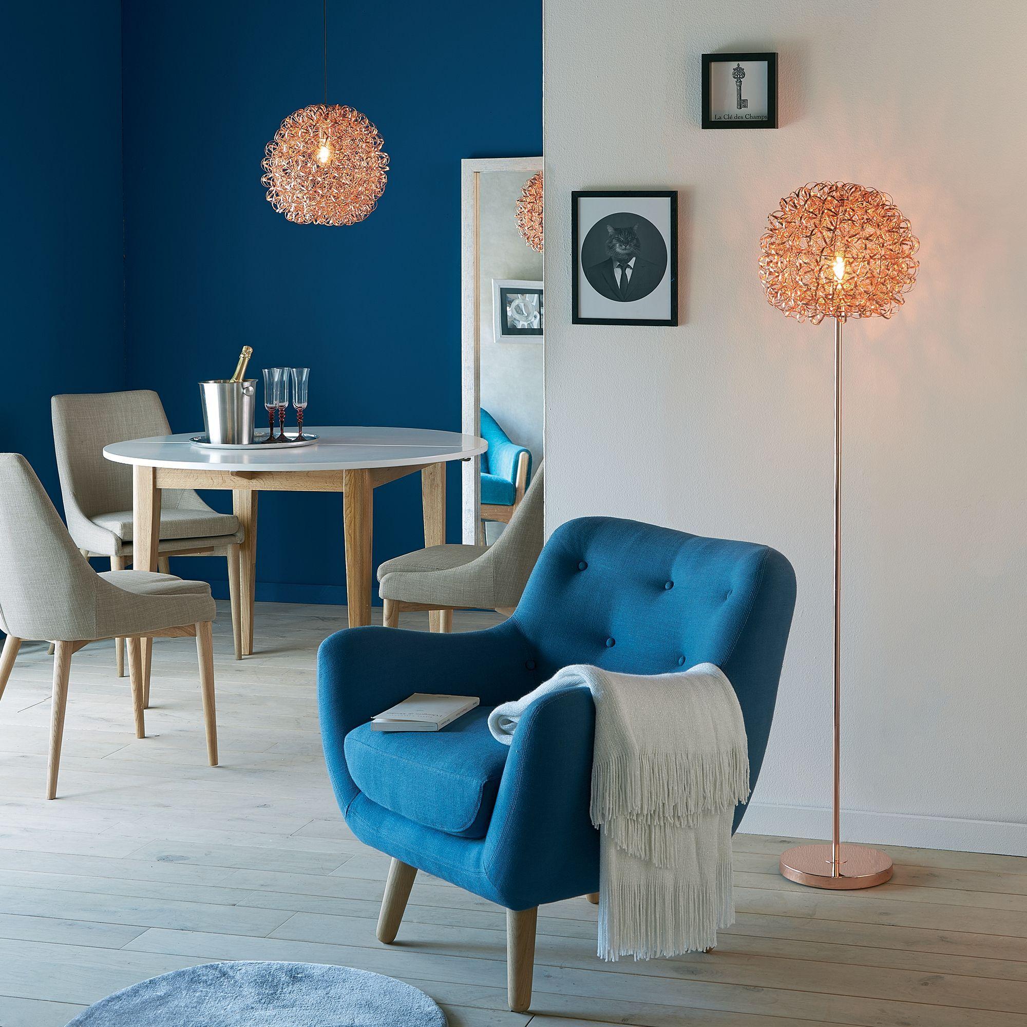 Fauteuil Esprit Scandinave Bleu Petrole Poppy Meuble Fauteuils Fauteuils Decoration Interieure Meuble Deco Deco Maison