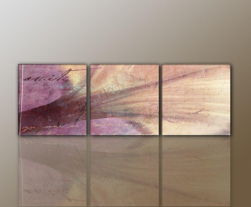 DESIGNBILDER WANDBILD Modernes Bild ABSTRAKT Wohnzimmer Kunst