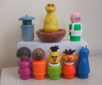 Vintage Fisher Price Sesame Street
