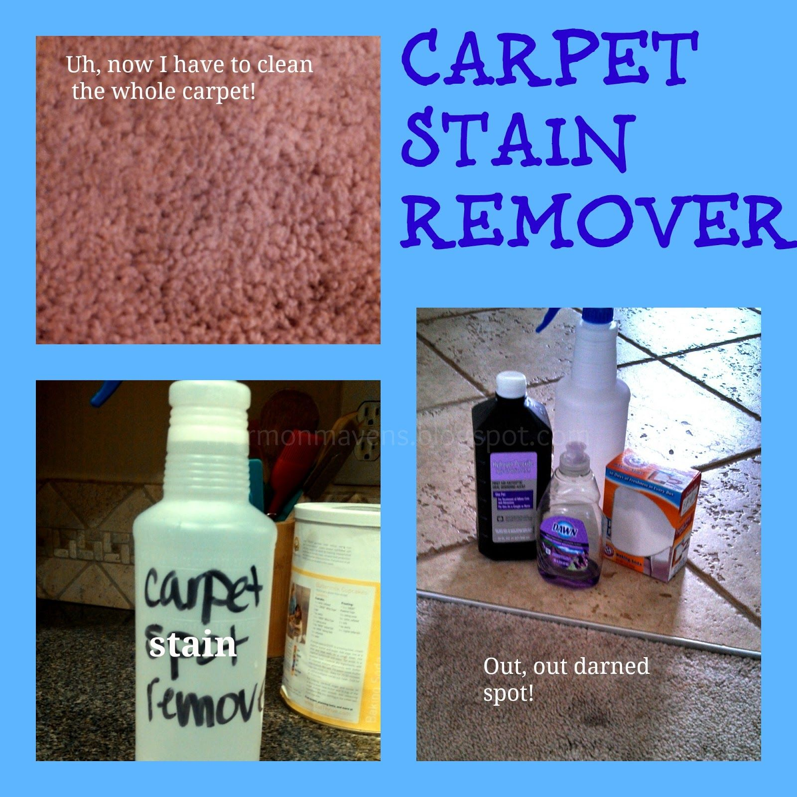 Mormon mavens in the kitchen carpet stain remover cleaning ideas