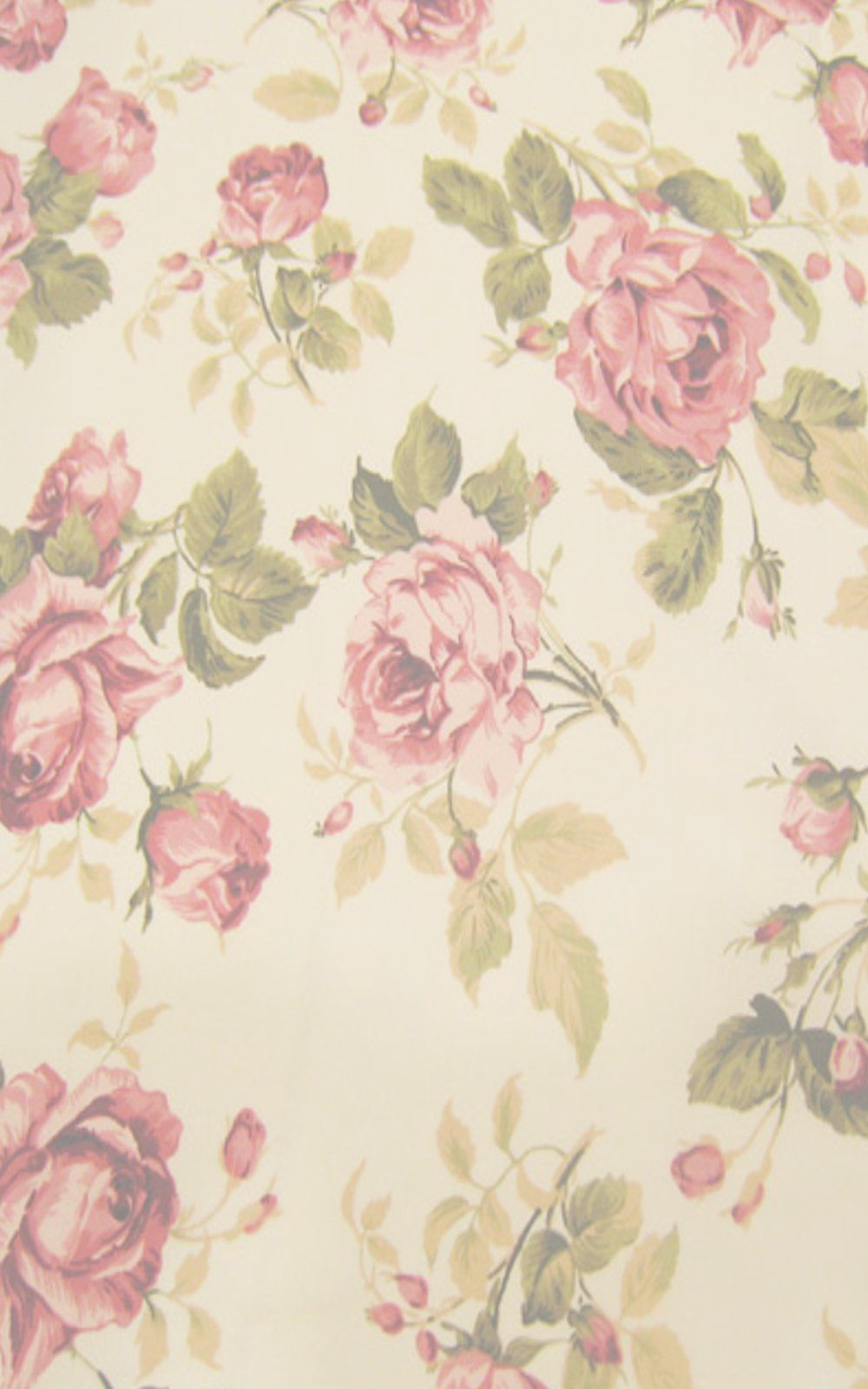 Vintage floral iphone wallpaper tumblr - Beautiful Vintage Floral Flowerr Rosee Wallpaper