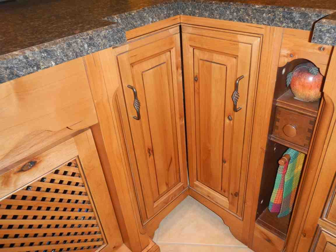 Lazy Susan Cabinet Door Wood Shelves Installing Cabinets Lazy Susan