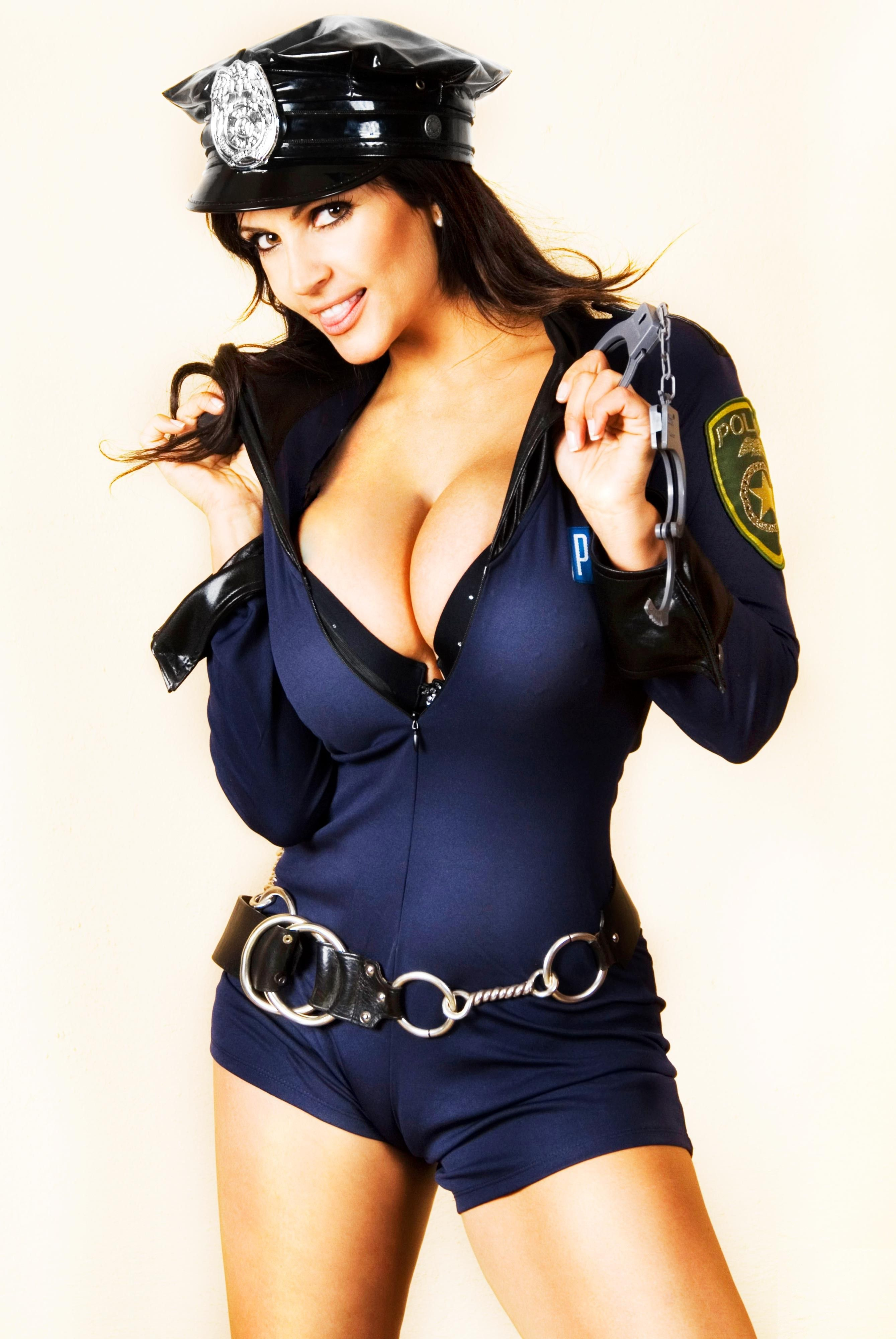 Denise Milani  Holiday Wearcostumes  Milani, Sexy, Hot Cops-8119