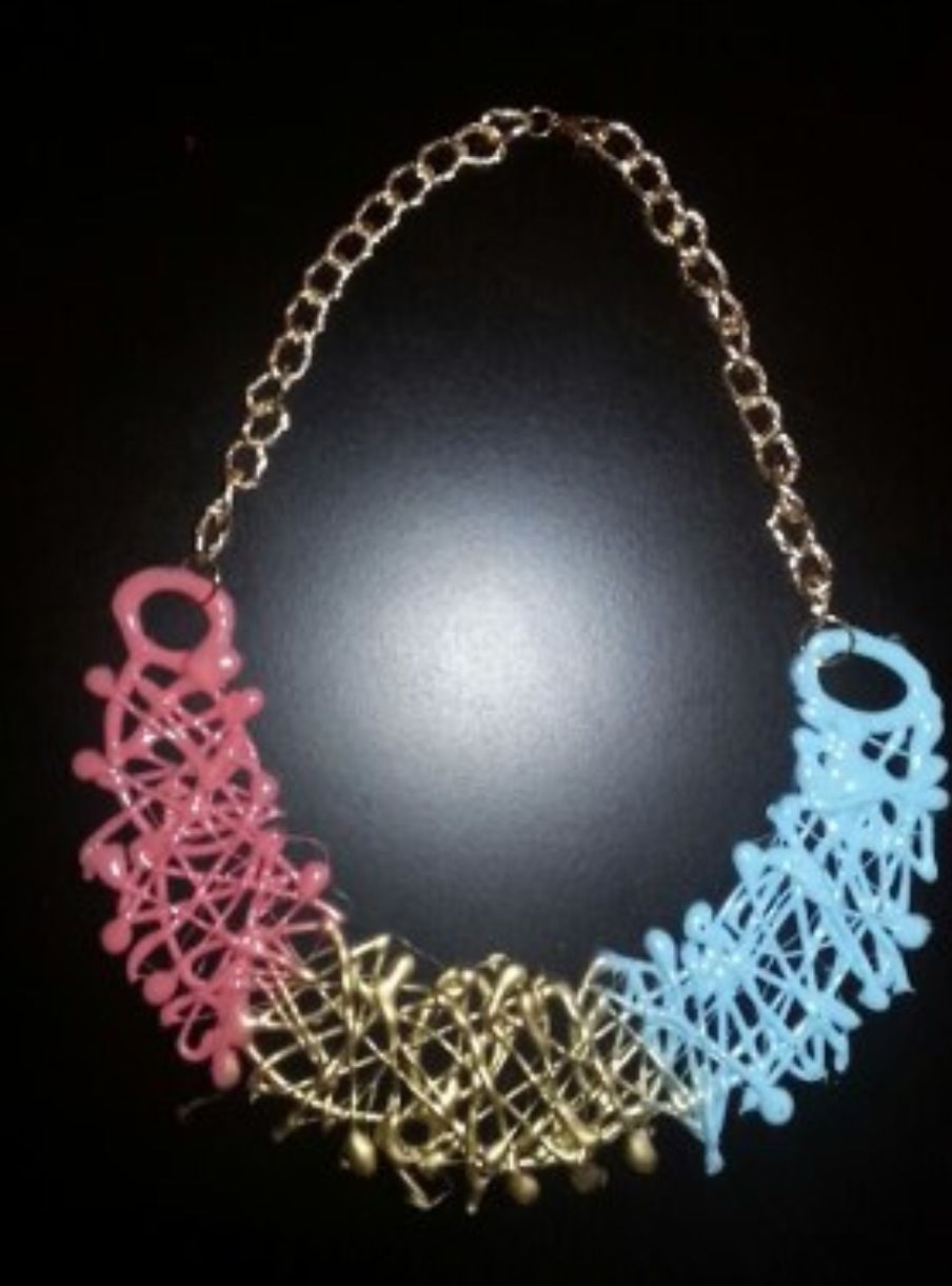 Hot silicon necklace