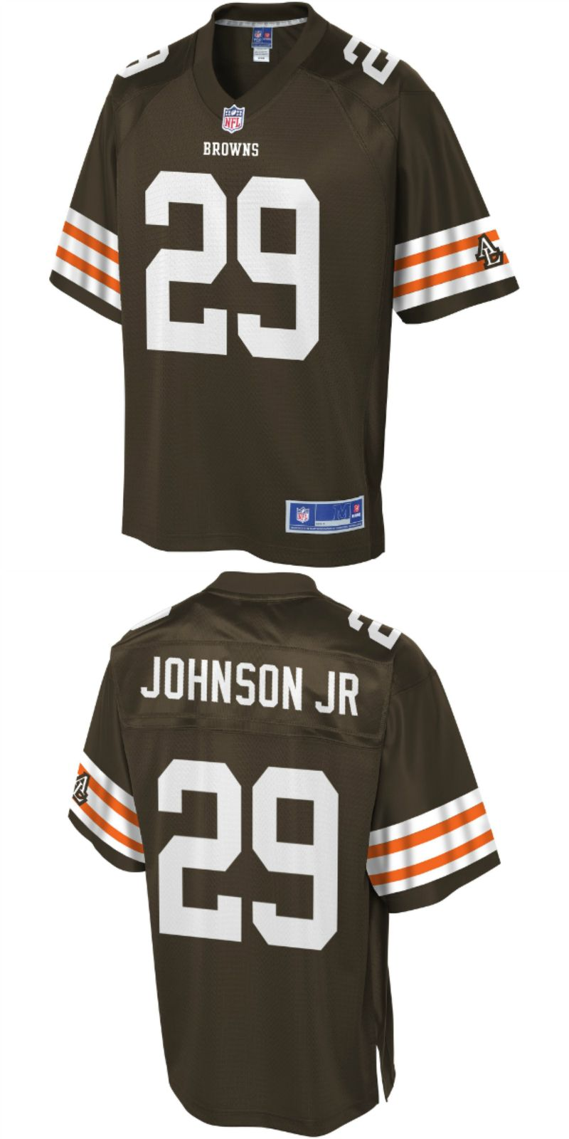 promo code 745ca 98d19 UP TO 70% OFF. Duke Johnson Cleveland Browns NFL Pro Line ...