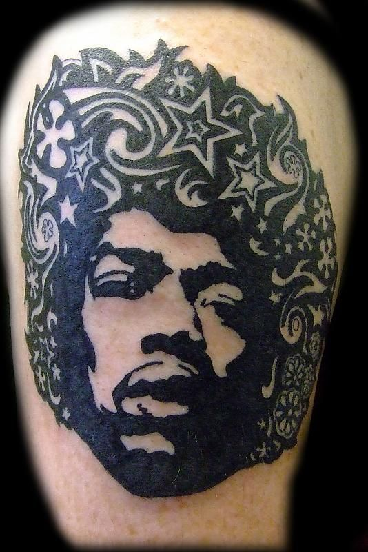 a cool idea i think hendrix tattoo ideas pinterest tattoo. Black Bedroom Furniture Sets. Home Design Ideas