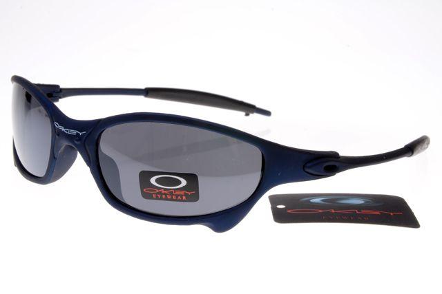Oakley Holbrook Sunglasses Black Deep Blue Frame Gray Lens 0590