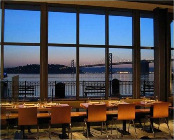 With one of the best views of the bay bridge The Slanted Door serves a range of Vietnamese/fusion dishes. Their spring rolls (Cha Gio) are especially ... : slated door - Pezcame.Com