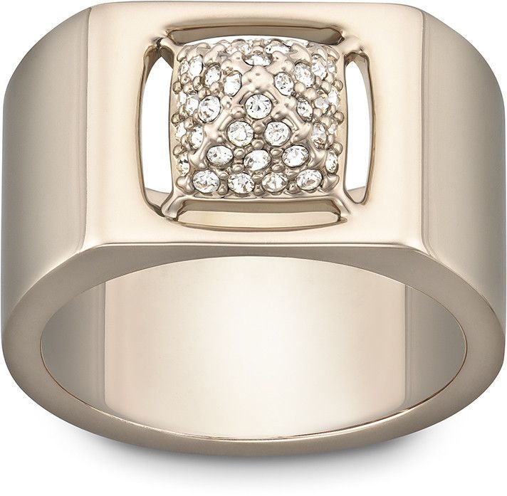 Swarovski Tactic Ring Size 58 1179791 Duty Free Crystal Swarovski Crystal Rings Swarovski Crystal Jewelry Crystal Jewelry