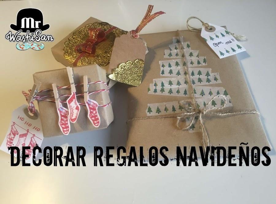 3 ideas originales para envolver tus regalos de Reyes Manualidades - envoltura de regalos originales