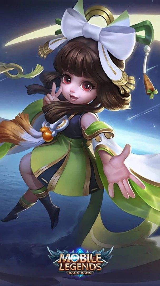 Chang E | Mobile Legend Wallpapers | Mobile Legends, Mobile Legend Wallpaper,  The Legend Of Heroes
