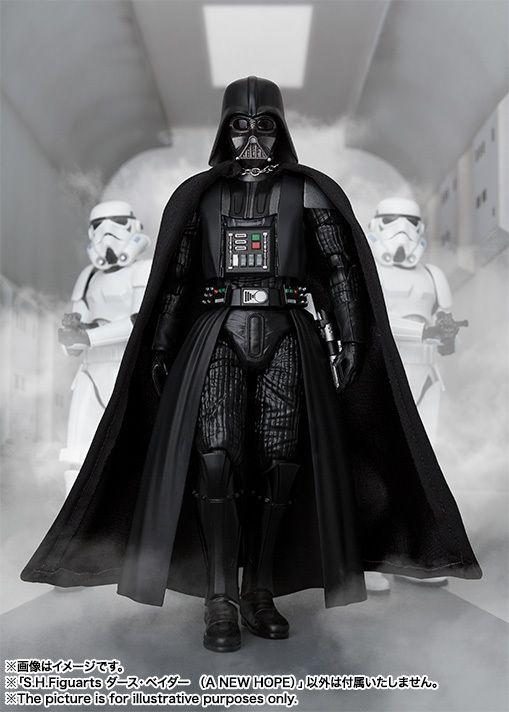 S H Figuarts Star Wars Darth Vader A New Hope Star