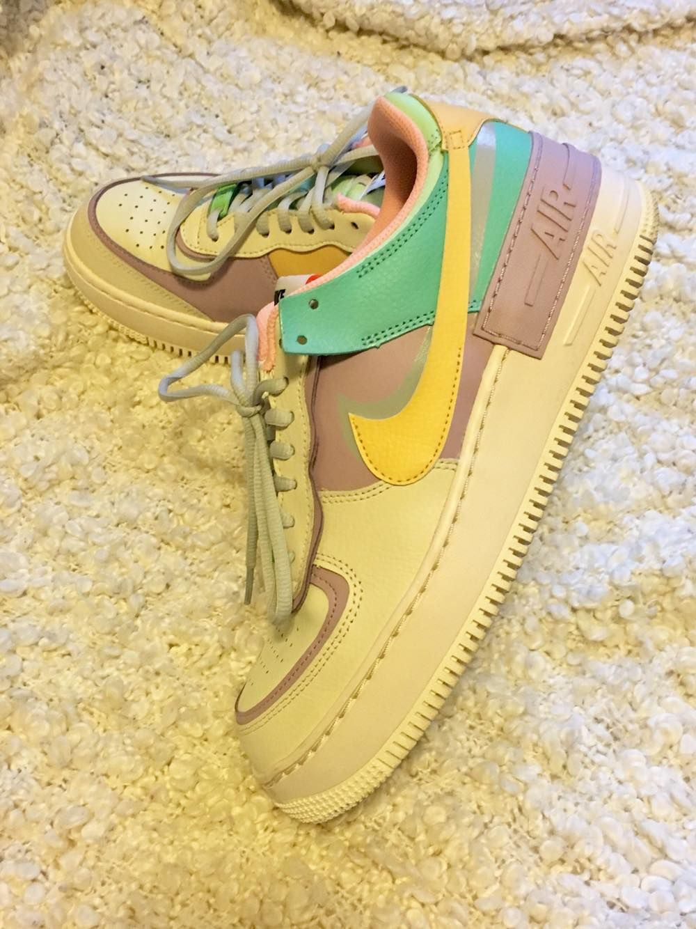 My air force 1 nike pastel. Not easy to