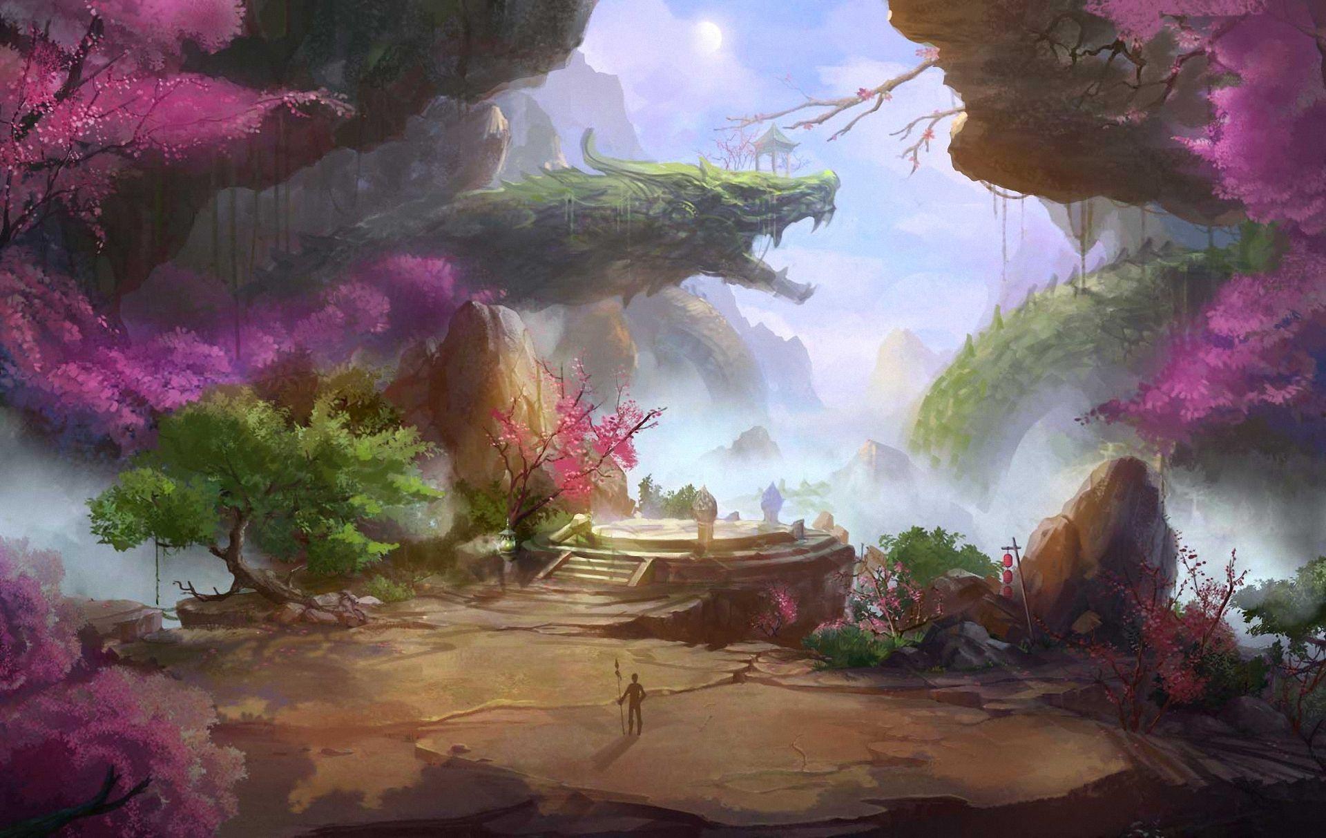 Fantasy World Art Dragon Fantasy World Art Dragon