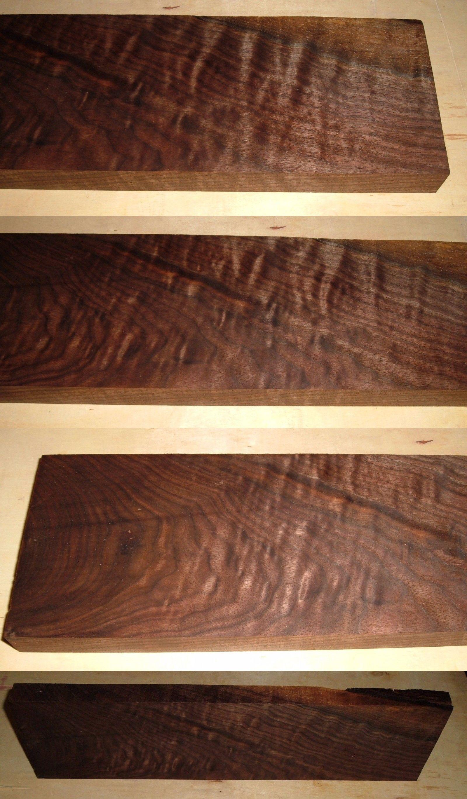 Woodworking Lumber 84011 1 1 8 X5 1 4 X19 4 4 Curly Figure Black Walnut Lumber Craft Board Wood Bws 542 Buy It Now On Woodworking Lumber 84011 Black Walnut Lumber Wood Woodworking