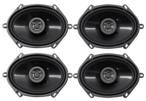 4) Hifonics ZS5768CX 5x7' or 6x8' 1000 Watt Coaxial Car Audio