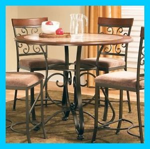 Wrought Iron Dining Table Ebay Kitchen Table Settings Dining Table Tall Kitchen Table