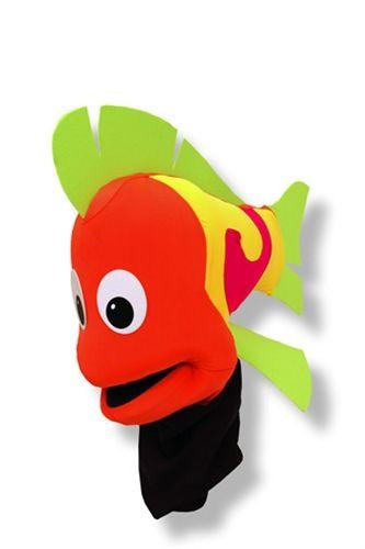 Black Light Fish puppet