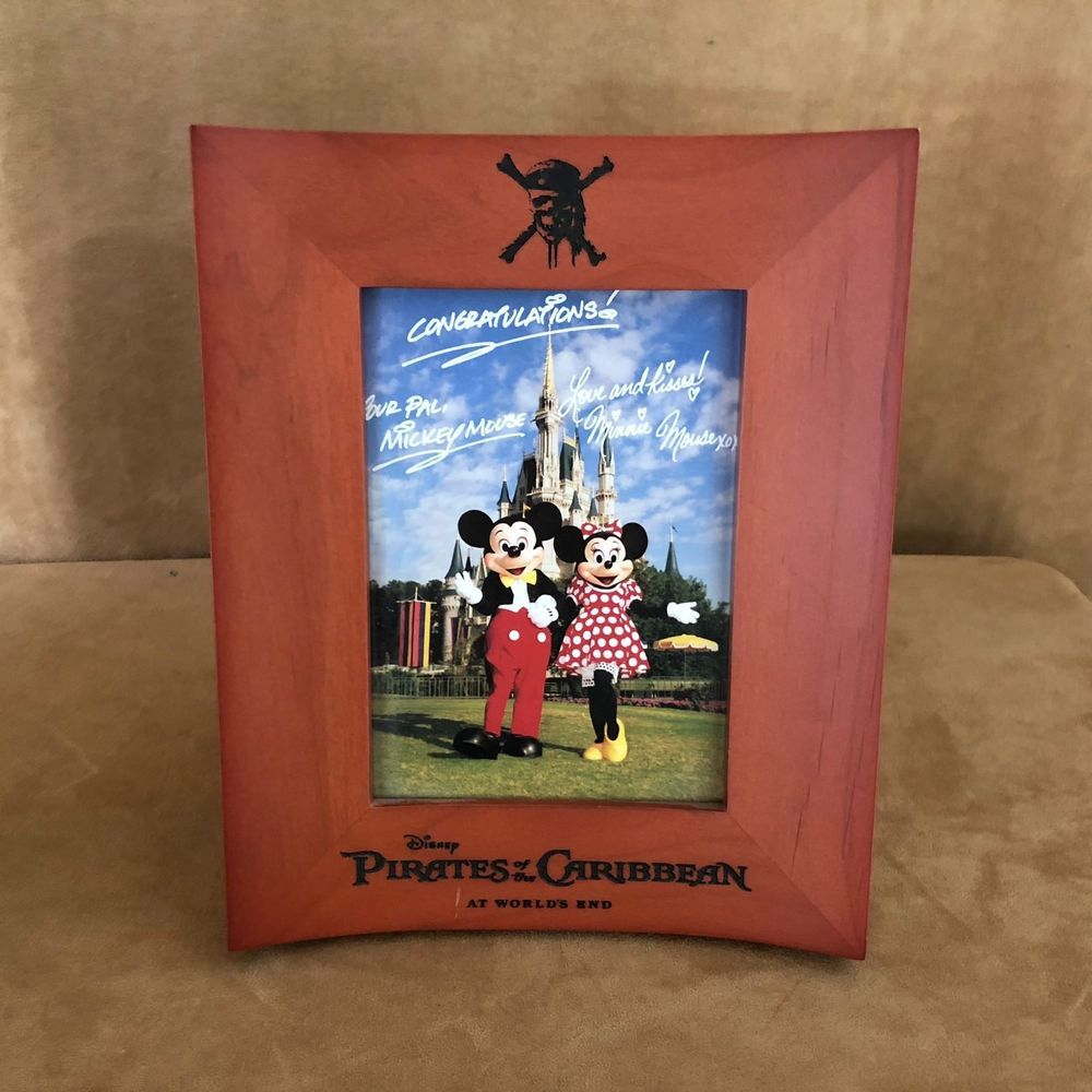 Walt Disney World Pirates Of The Caribbean Picture Frame At Worlds