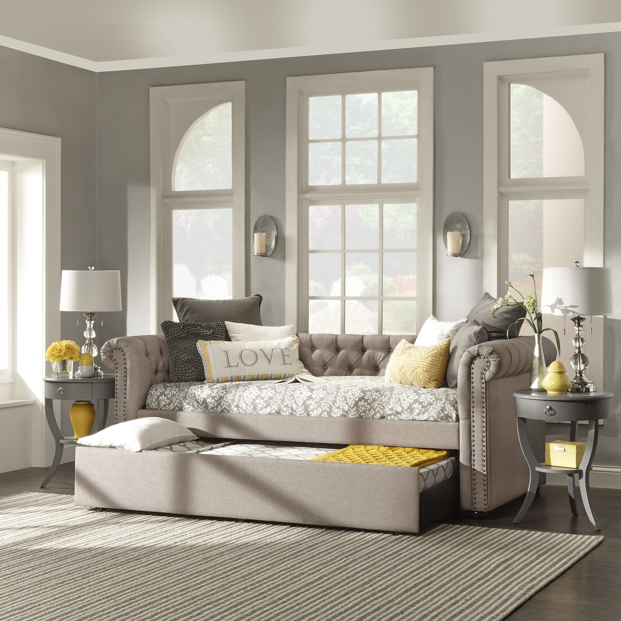 carthusia daybed with trundle craft room pinterest daybed