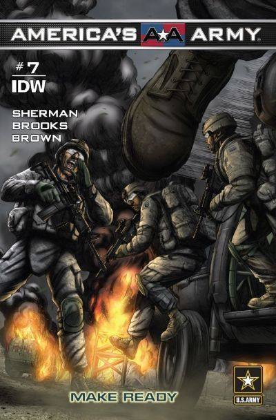 Check out America's Army #7: Make Ready on @comixology