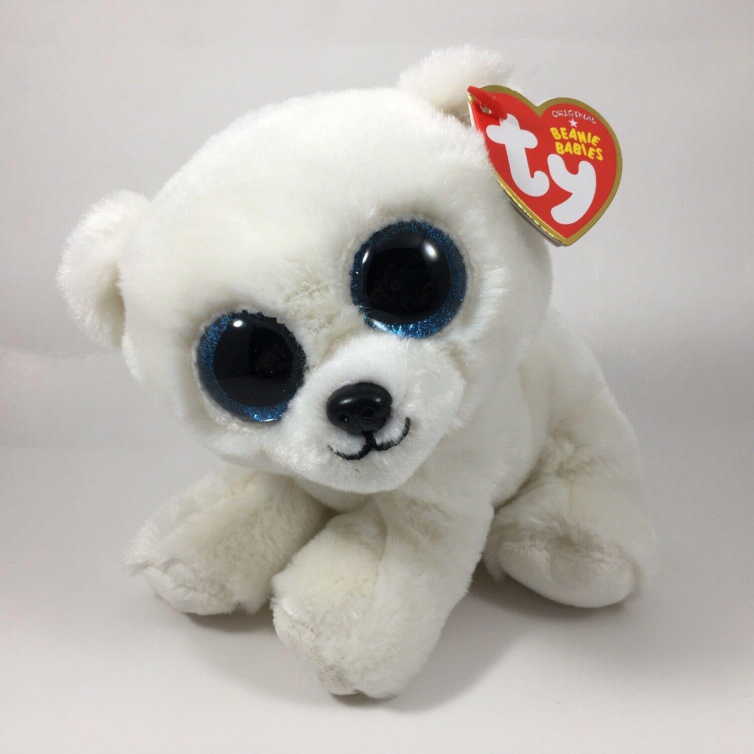 Predownload: New 2020 Ty Beanie Baby 6 Ari White Polar Bear Stuffed Animal Plush Toy Mwmts 8421401734 Ebay Polar Bear Plush Ty Stuffed Animals Bear Stuffed Animal [ 1512 x 1512 Pixel ]