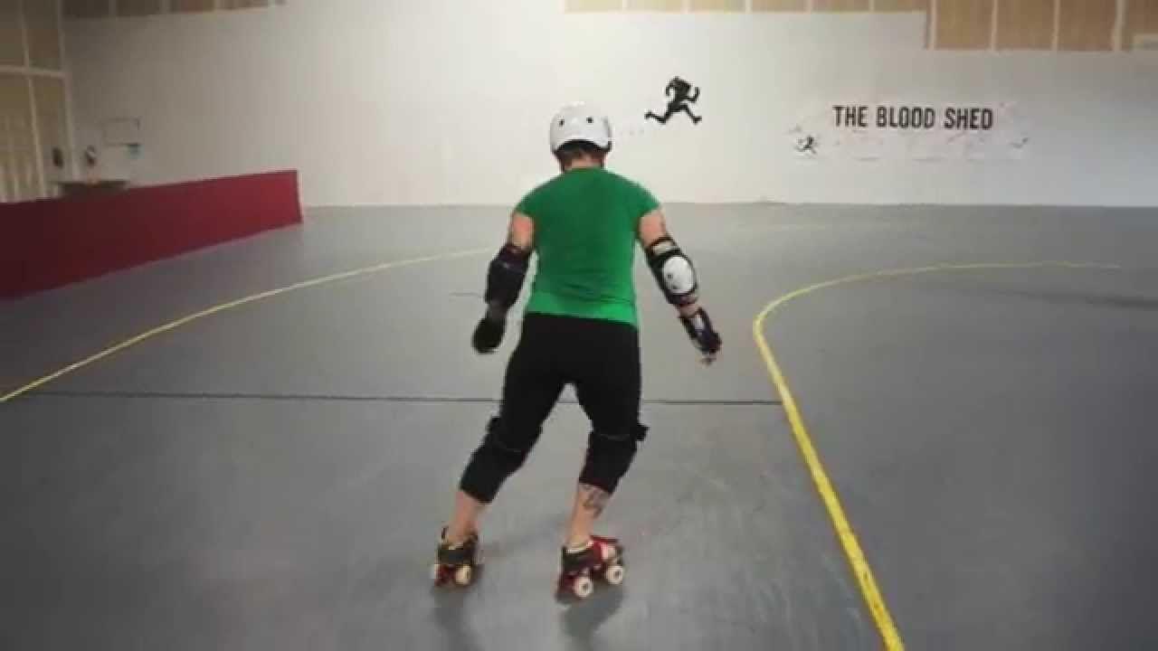 Roller skates videos youtube - Lateral Step Work Roller Derby Practice