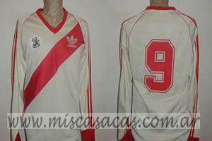 Casacas de River Plate de 1986 funes copa intercontinental
