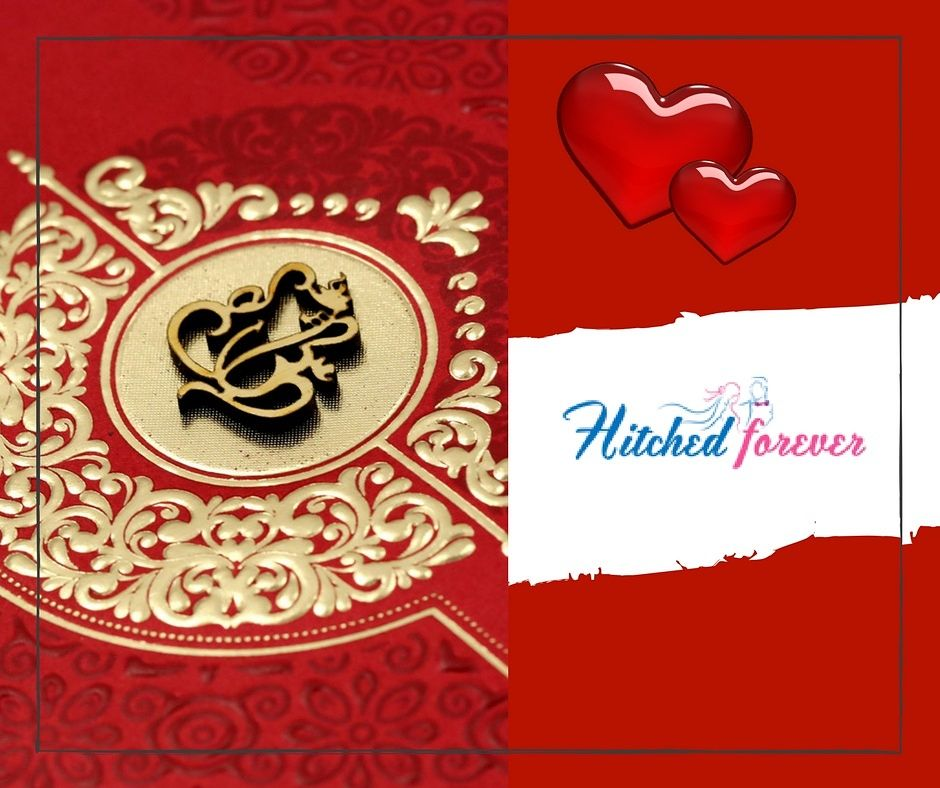 Pin by Hitched Forever on Indian Wedding Cards Collection