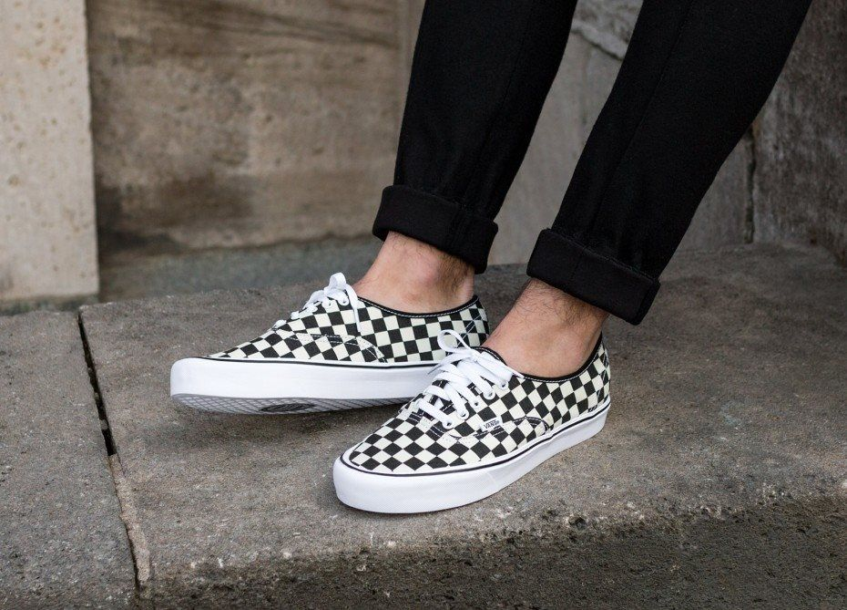 07c428165f VANS AUTHENTIC LITE CHECKERBOARD CANVAS