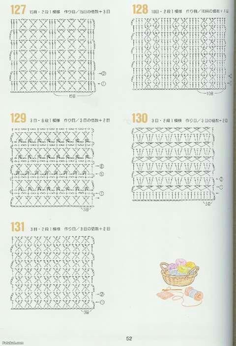 Quadrati 25 schema   Crochet...pattern vari   Pinterest   Bebe