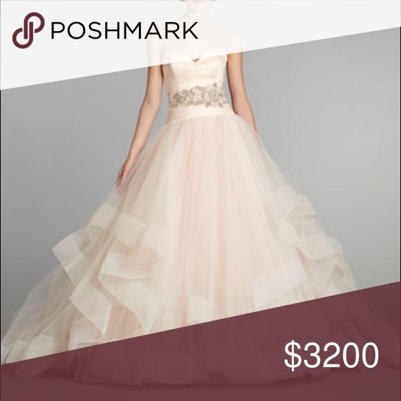 ae2a9f724865 LAZARO WEDDING GOWN Lazaro Blush wedding or Prom Gown!!! Style#3250 label