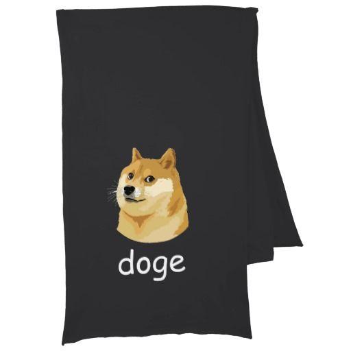such logo so brand very doge much parody scarf wrap
