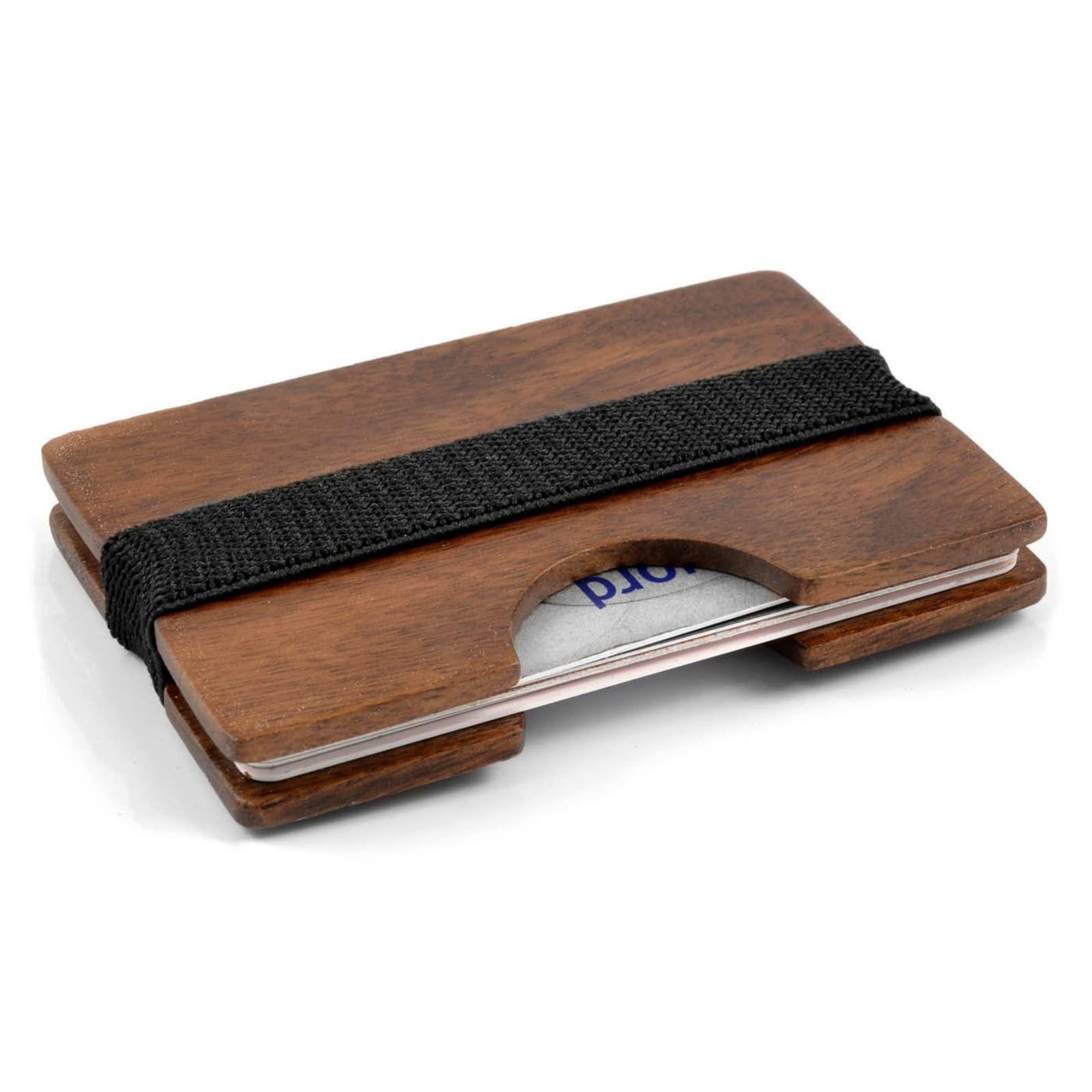 Photo of Walnut Wood Cardholder   In stock!   Collin Rowe