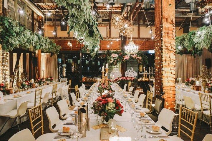 Sydney Wedding Romantic Botanical Garden Theme Botanical