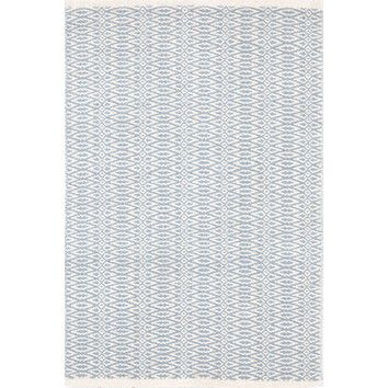 Dash and Albert Rugs Fair Isle Swedish Blue / Ivory Rug